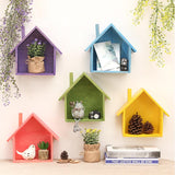 Decorative Wooden House Pattern Racks-Home-Cool Home Styling