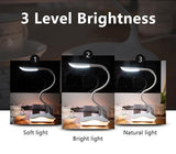 LED Desk Lamp Dimmable LED Table Lamp Study 3 Brightness Level Reading light-Desk Lamps-Cool Home Styling