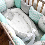 Portable Baby Nest Bed Crib-Baby Cribs-Cool Home Styling