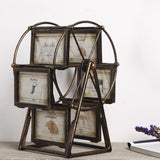 Retro Ferris Wheel 6 Rotatable Picture Frames-Figurines & Miniatures-Cool Home Styling