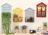 Vintage Wall Hanging Decorative Wooden Storage Racks-Storage Holders & Racks-Cool Home Styling