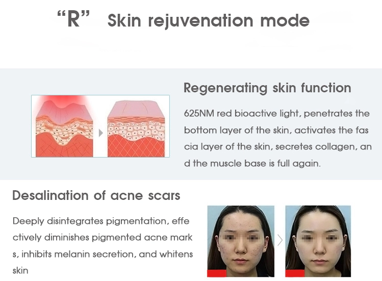 Led Light therapy for skin rejuvenation