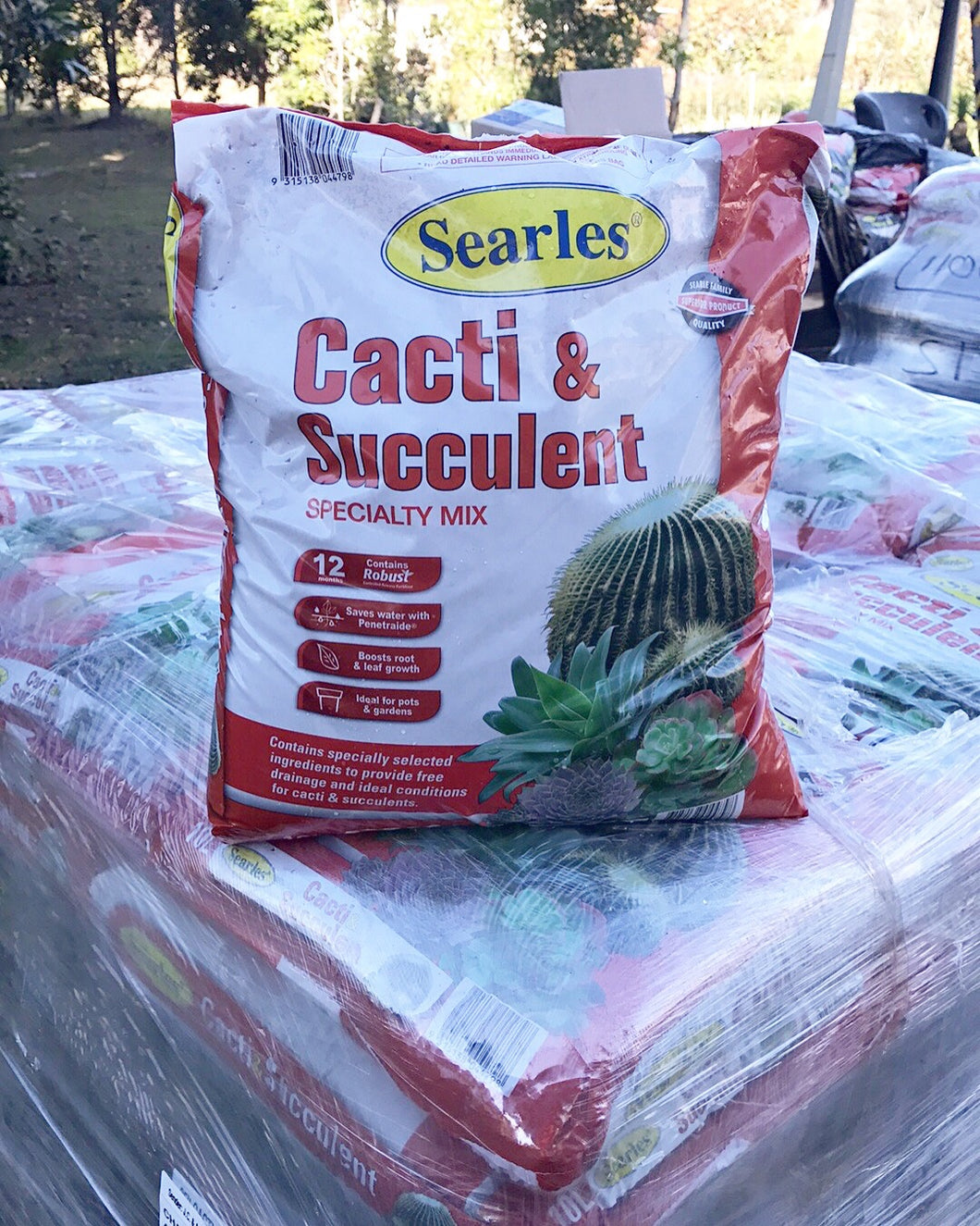 Searles Succulent & Cacti Speciality Mix 10L