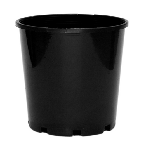 20x 140mm Plastic UV treated Pot Black (20 pack)