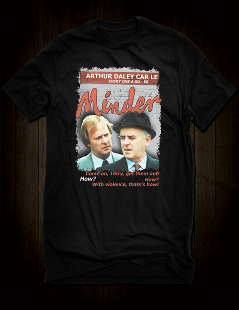 Minder - Tel And Arthur T-Shirt