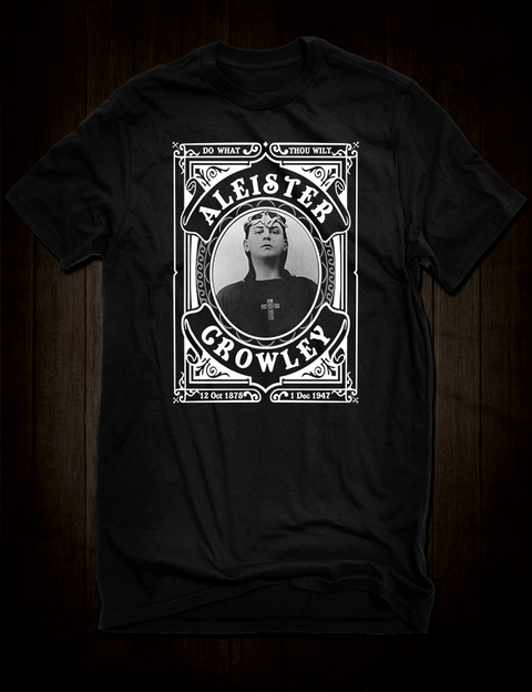 The Great Beast Aleister Crowley T-Shirt