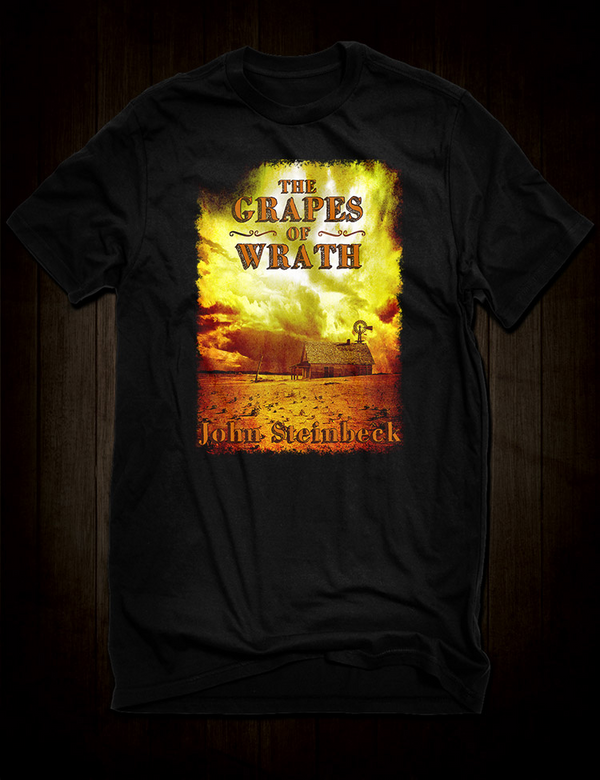 John Steinbeck The Grapes Of Wrath T-Shirt