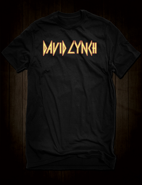 David Lynch - Def Leppard T-Shirt