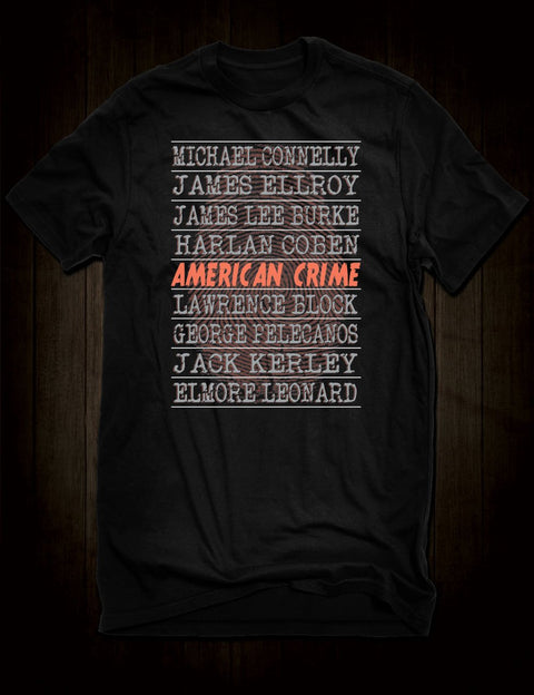 American Crime Writers T-Shirt