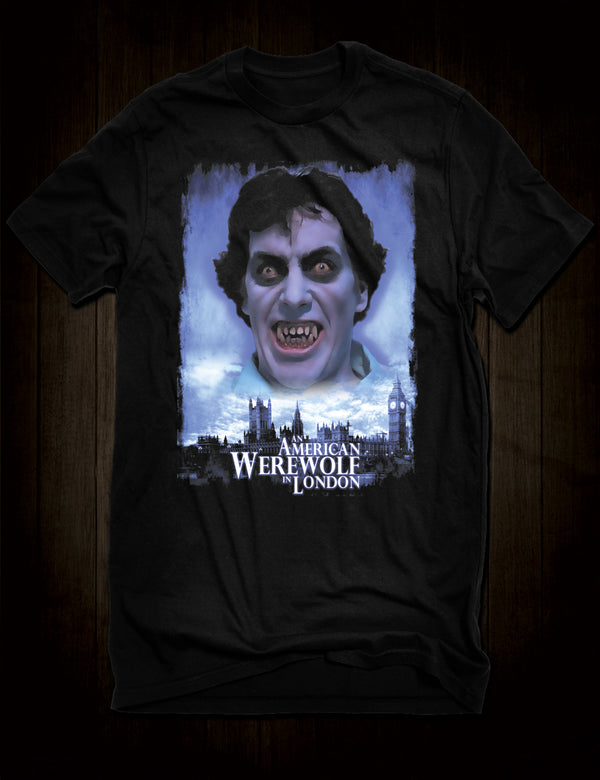 An American Werewolf In London T-Shirt Cult Horror Movie