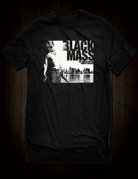 Johnny Depp Black Mass True Crime Movie T-Shirt