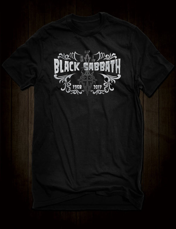 Black Sabbath Memorial T-Shirt