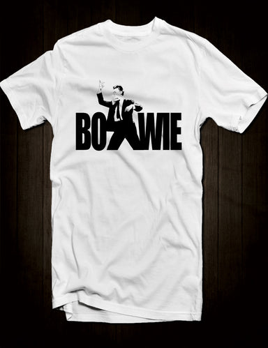 White David Bowie T-Shirt