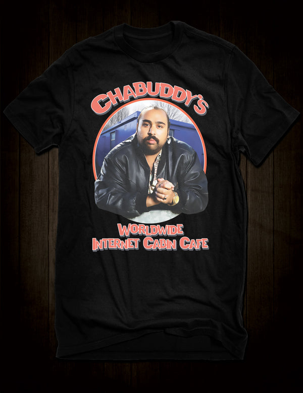 Chabuddy G Worldwide Internet Cabin Cafe T-Shirt