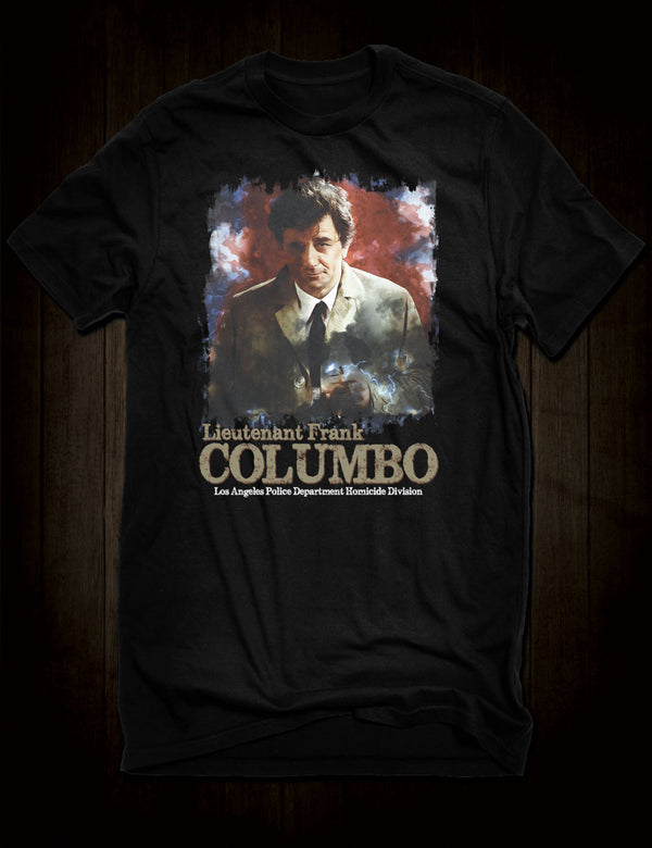 TV Detective T-Shirt Columbo