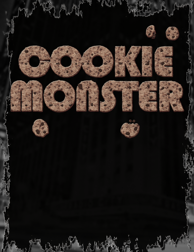 Cookie Monster Tee Design