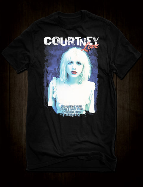 Courtney Love Celebrity Skin T-Shirt