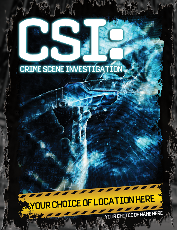Personalise Your Own CSI T-Shirt