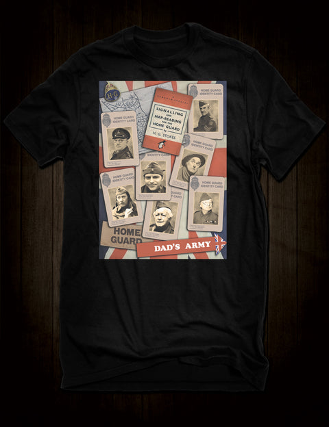 Dad's Army Classic Sitcom T-Shirt