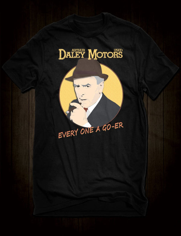 Arthur Daley Minder T-Shirt