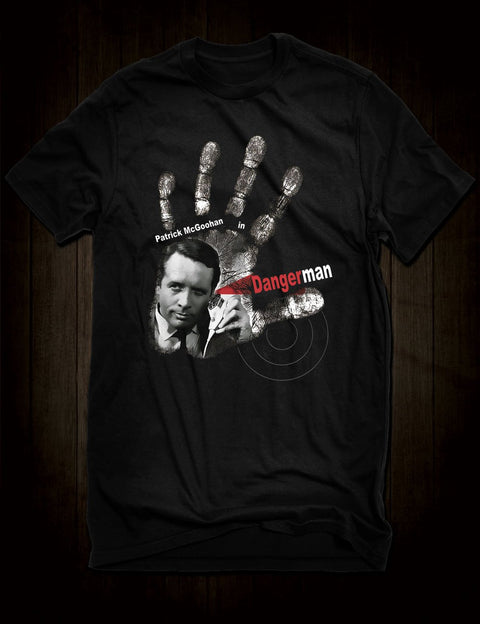 Patrick McGoohan Danger Man T-Shirt