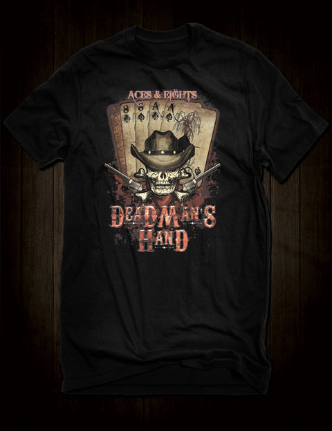 Wild Bill Hickok Dead Man's Hand T-Shirt