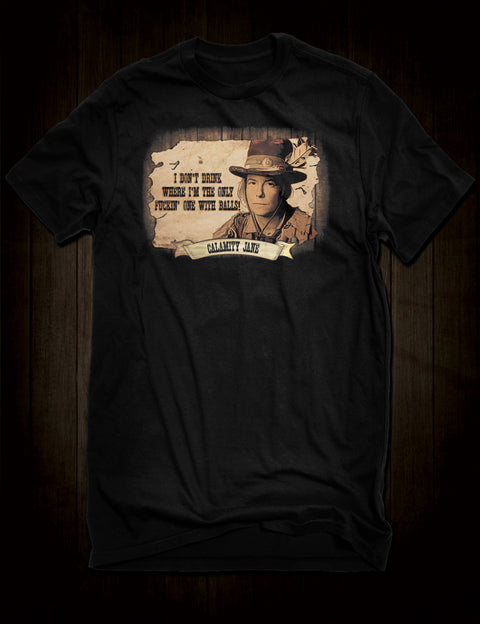 Deadwood Calamity Jane T-Shirt