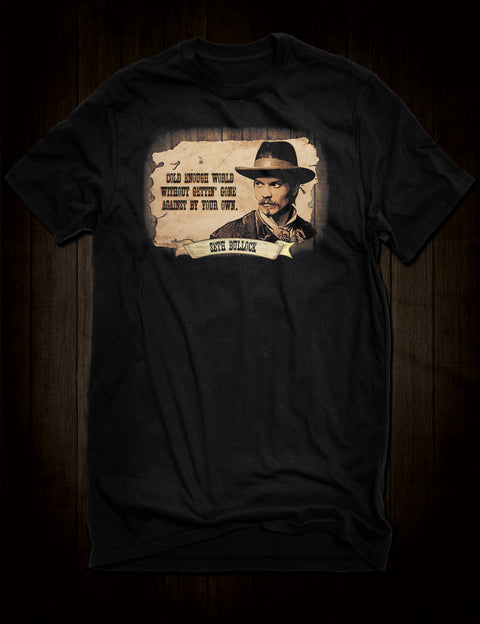 Deadwood Seth Bullock T-Shirt