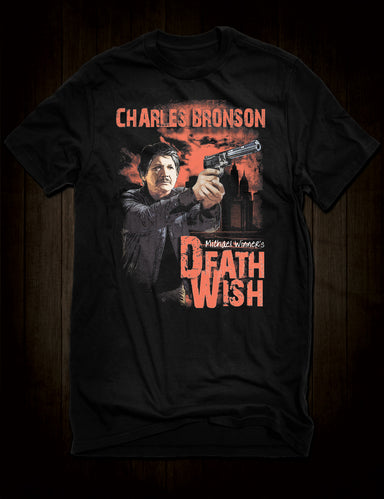 Charles Bronson Death Wish T-Shirt