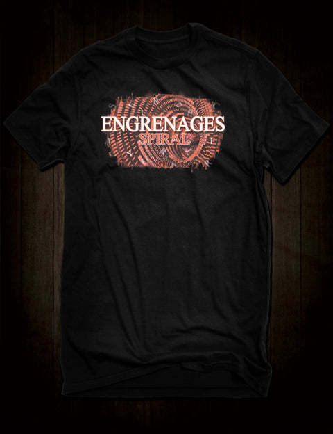 Engrenages Spiral Cult TV Drama T-Shirt