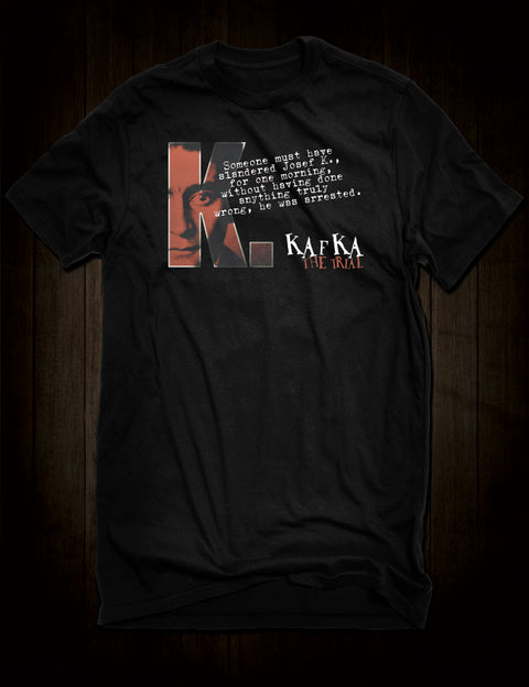 Franz Kafka The Trial T-Shirt