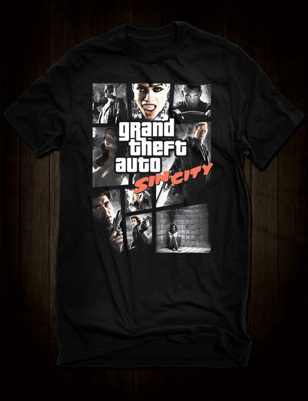 Grand Theft Auto Sin City T-Shirt