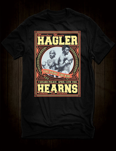 "Marvin Hagler /""Marvellous/"" Boxing Legend T-Shirt Middleweight Champ"