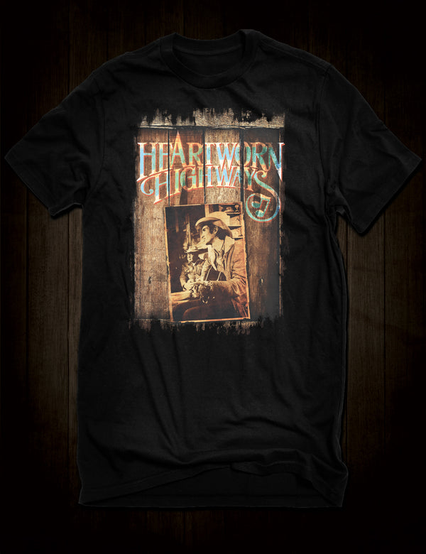 Outlaw Country Music T-Shirt Heartworn Highways Film