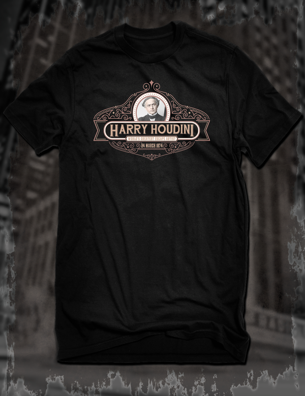 Harry Houdini Escapologist T-Shirt