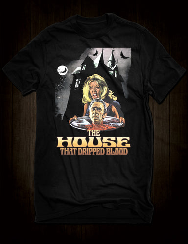 The House That Dripped Blood Movie T-Shirt