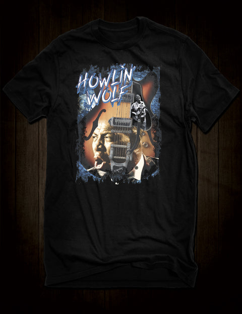 Classic Blues Howlin' Wolf T-Shirt