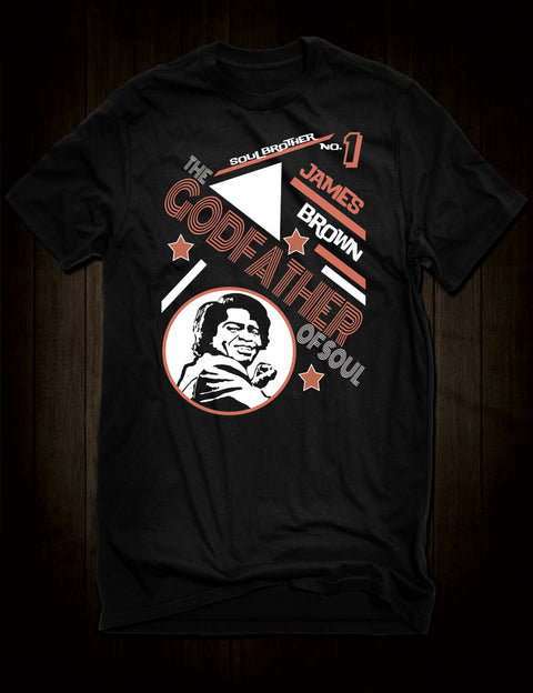 James Brown Godfather Of Soul T-Shirt
