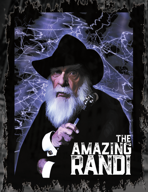 The Amazing Randi T-Shirt Design