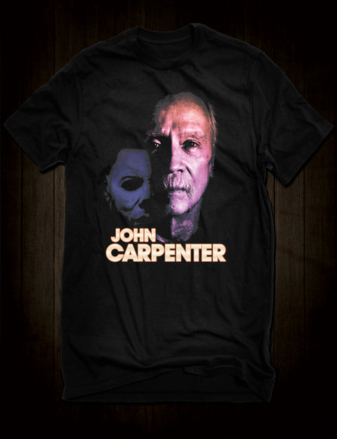 John Carpenter Horror Movie T-Shirt