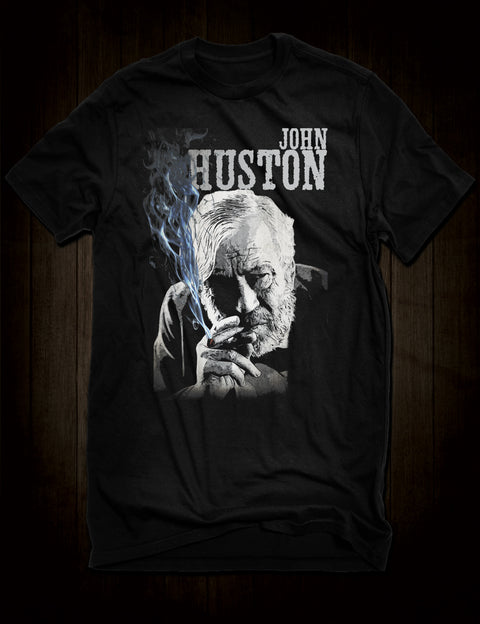 John Huston Great Directors T-Shirt