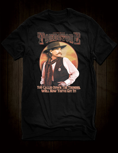 Kurt Russell Tombstone Film T-Shirt