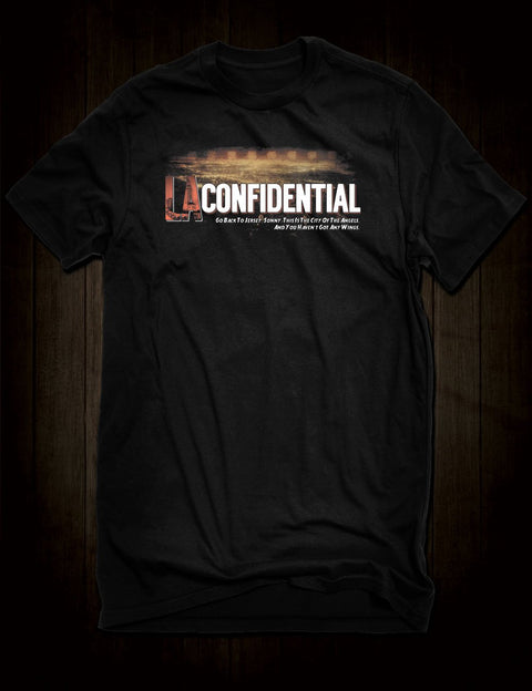 James Ellroy LA Confidential T-Shirt