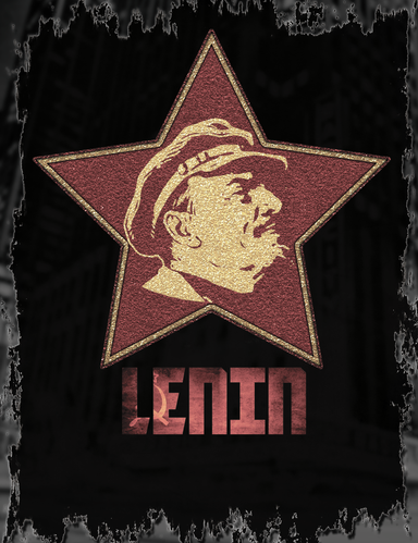 V I Lenin Red Star T-Shirt