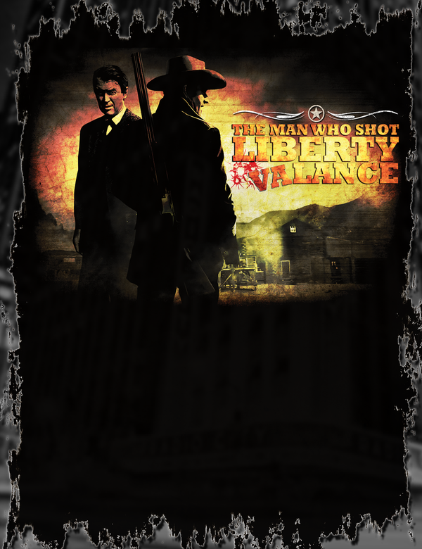 The Man Who Shot Liberty Valance Tee Design