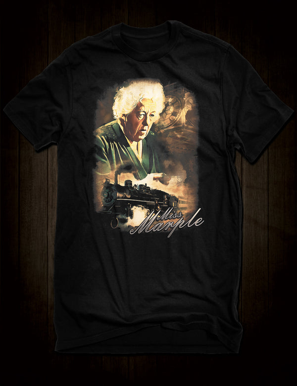 Classic Film T-Shirt Margaret Rutherford Miss Marple