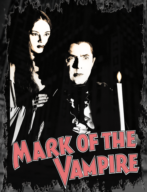 Mark Of The Vampire T-Shirt Classic Horror