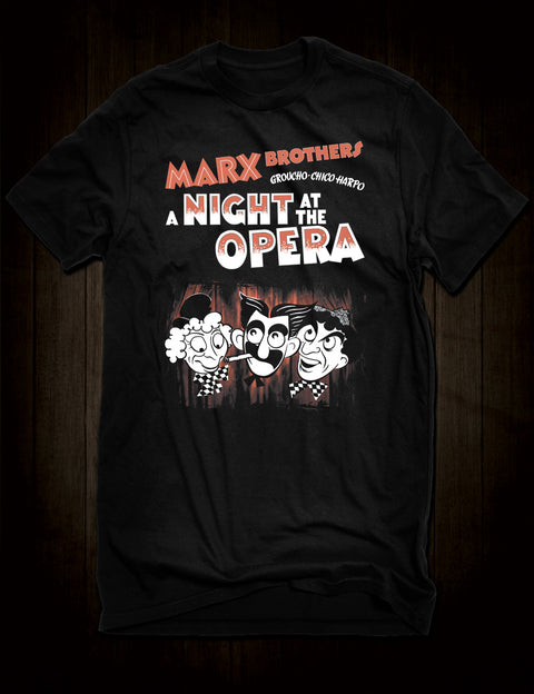 Marx Brothers T-Shirt A Night At The Opera
