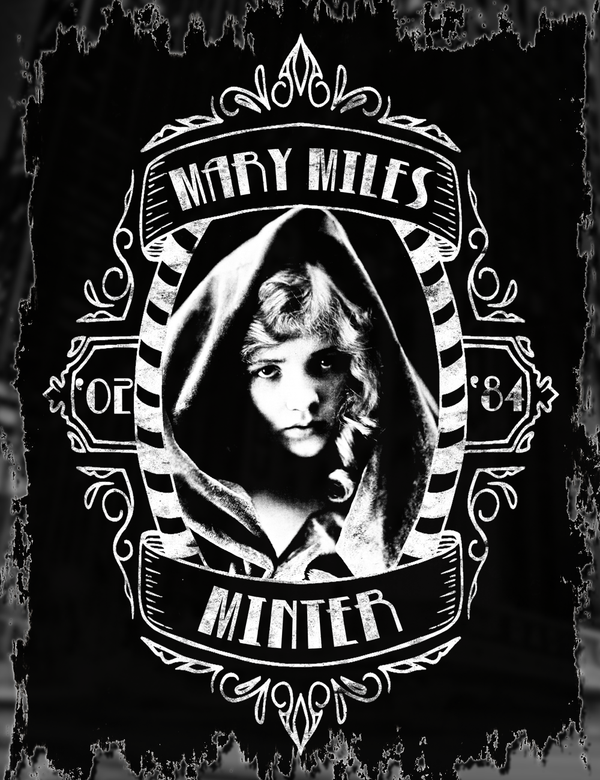 Mary Miles Minter Tee Design