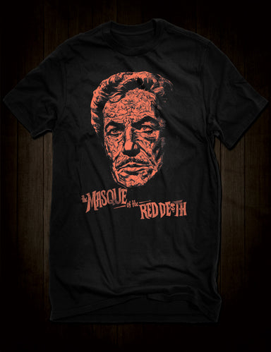 Vincent Price Roger Corman Masque Of The Red Death T-Shirt